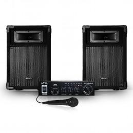 "2 passive speakers 8 ""/..."