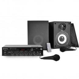 KARAOKE Kit - Amp 2x50W + 2...