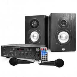 KARAOKE Kit - Amp 2x75W + 2...