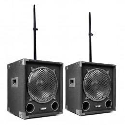 2 gabinetes de sonido MAX12...