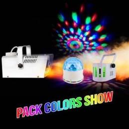 Pack light - smoke machine...