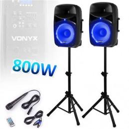 "Set speaker 12 ""800W Plug &..."
