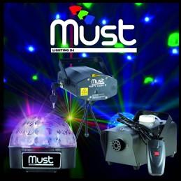 Pack Light MUST III Laser...