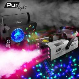 Smoke machine 3-in-1 RGB...