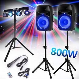 """Set Speaker 12 """"800W + Feet..."""