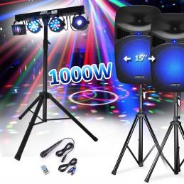 "Set speaker 15 ""1000W +..."