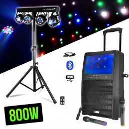 Mobile speaker 800W color...