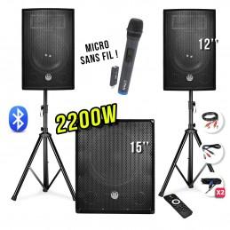 2200W PA Pack - 12...