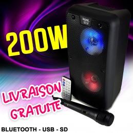 Enceinte autonome karaoke...