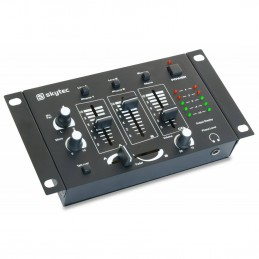 4 channel mixer - black -...
