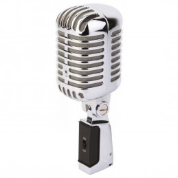 Chrome microphone - retro...