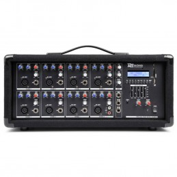 Powered mixer 8 channels -...