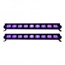 Lot de 2 barres à LED UV...
