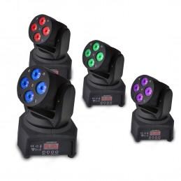 Set of 4 RGBW LED Moving...