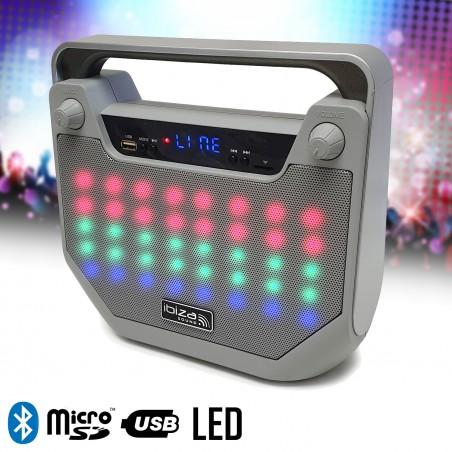 Autonomous Bluetooth Speaker Freesound40-SI LED Function Karaoke - BT / USB / MicroSD / TO