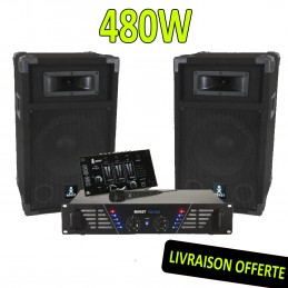 BOOST DJ-300 Pack sonorisation