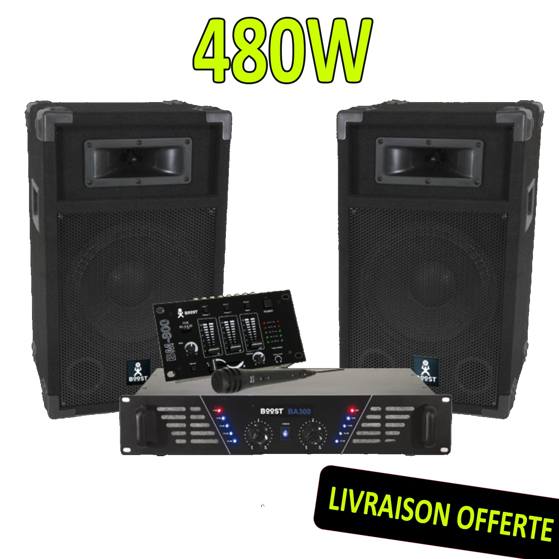 BOOST DJ-300 Pack sonorisation