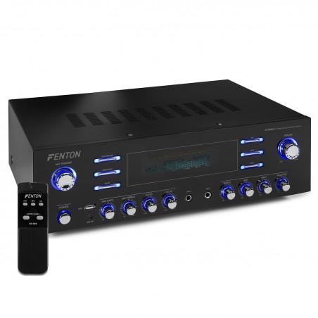 Amplifier AV-340 Hi-Fi with a power of 2 x 180 W RMS / RMS 3 x 50