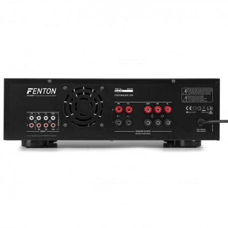 Amplificateur AV-340 Hi-Fi avec une puissance de 2 x 180 W RMS/3 x 50 RMS