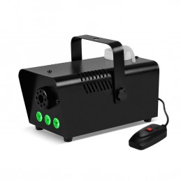 Mini Machine à fumée à LEDs vertes 400W + + Télécommande et érier fixation