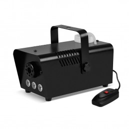 Mini Machine à fumée à LEDs blanches 400W + + Télécommande et érier fixation
