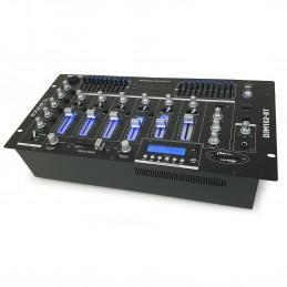 """Table de mixage 19"""" avec 12 entrées - 6 canaux - Bluetooth/USB"""