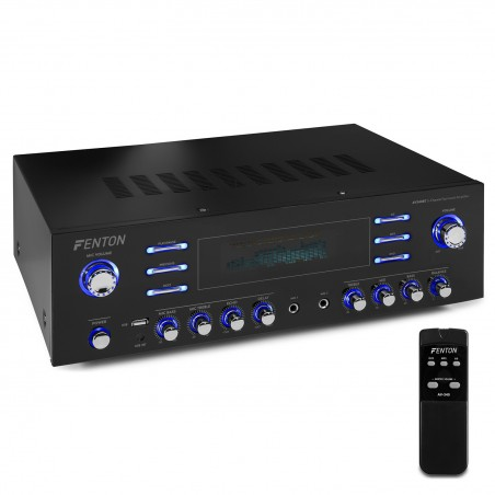 Surround amplifier Fenton AV340BT 5 channels - USB Bluetooth