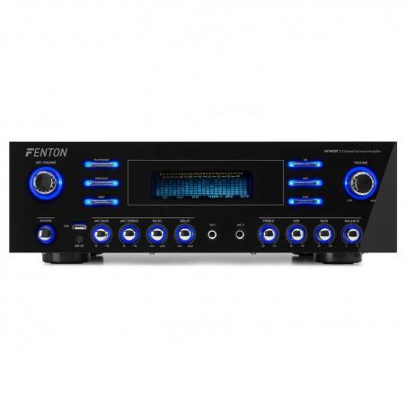 Amplificateur surround Fenton AV340BT 5 canaux - Bluetooth USB