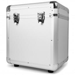"""Valise de rangement 12"""" pour disques vinyles Power Dynamics RC100 - Argent"""