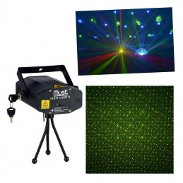 Mini Laser : 100mW TE-cooled 650nm Rouge et 50mW TE-cooled 532nm Vert