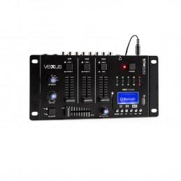 Mélangeur de 4 canaux pour le DJ Qui Se iNICIA. Avec USB
