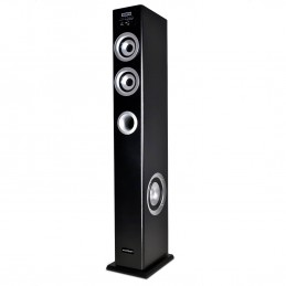 Madison MAD-CENTER100-BK Colonne multimédia amplifiée Madison noire 100W - FM/USB/SD/BLUETOOTH