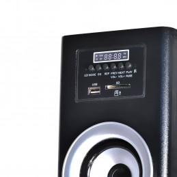 Madison MAD-CENTER100-BK Colonne multimédia amplifiée Madison noire 100W - FM/USB/SD/BLUETOOTH