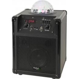 ENCEINTE PORTABLE Autonome avec EFFET DE LUMIERE ASTRO A LED RVB