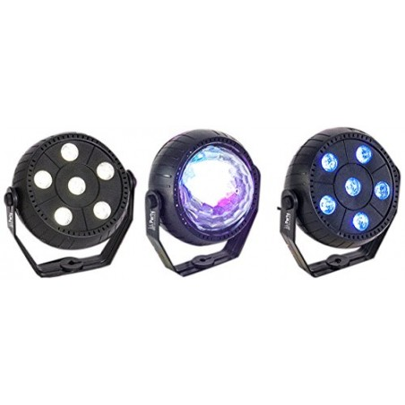 3 Pack light effects LED - RGB Astro BY RGB and Strobe