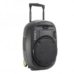 "Système de sonorisation Portable Autonome 12"" - 700W USB/MP3/Bluetooth/Vox + 2 micros VHF"