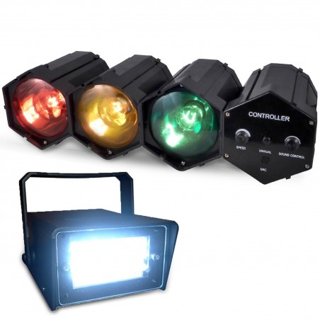 Pack Small Animation chase LED strobe +