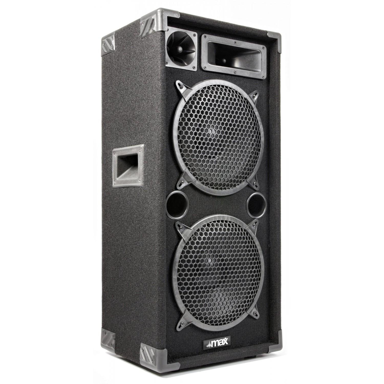 """Enceinte passive Sono Boomers 2x 10"""" de 1000W - MAX MAX210 UNITAIRE"""
