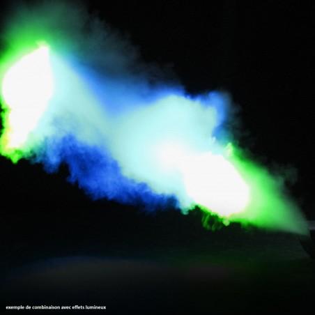 Machine à fumée 1500W - DMX - Télécommandes filaire + sans fil - Flash F1700066-HAZER + 1L de liquide