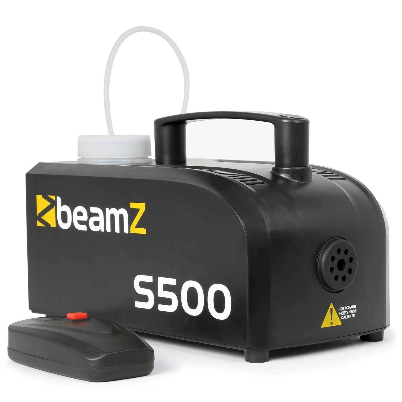 Machine à fumée BeamZ 500W 50m³ + 250ml de liquide S500-250ML