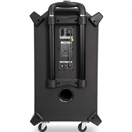 Système SOUND BOX SPLBOX350-PORT à LED Portable Autonome 350W avec USB SD Bluetooth Radio FM / REC / MEGA BASS