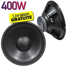 "Haut parleur 18"" Soundlab 400W 8 Ohm - Enceinte"