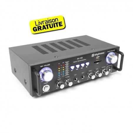 Karaoke MP3 Stereo Amplifier
