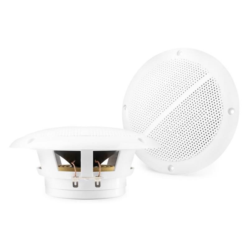 """Lot de 2 haut-parleurs Marins MSV50 - 5"""" 80W IP44 - Resistants à l'eau"""