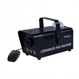 Machine à fumée LED Blanches 400W LSM400LED-BK