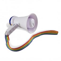 Lot de 2 Mégaphones comptact avec mémoire internet 10W - Party Sound & Light PARTY-MEGACUP