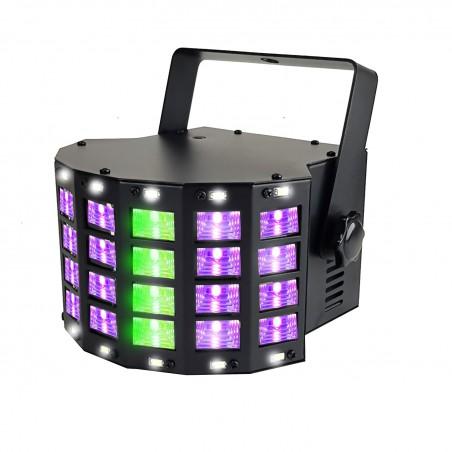 Stroboscope light Derby game - 3 + RGB LED 14 LED White
