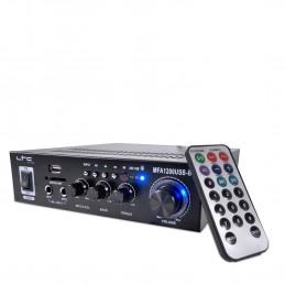 Ampli MFA1200-BT LTC Karaoké Hifi 100W USB/BT Noir