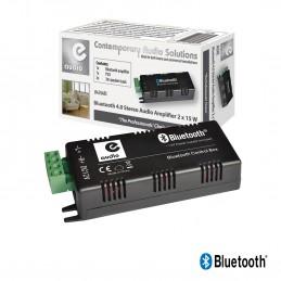 Amplificateur e-Audio B425ABL pour haut-parleur de plafond - 30W - Bluetooth - Alexa - Amazon Echo