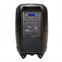 Enceinte ABS COMBINE Mobile sur Batterie - 100W - 2 Micros UHF - MP3 USB /SD et Bluetooth - BST PWA-80